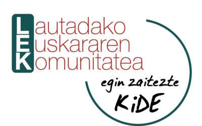 Kide izateko kanpaina martxan ipini du Lautadako Euskararen Komunitateak