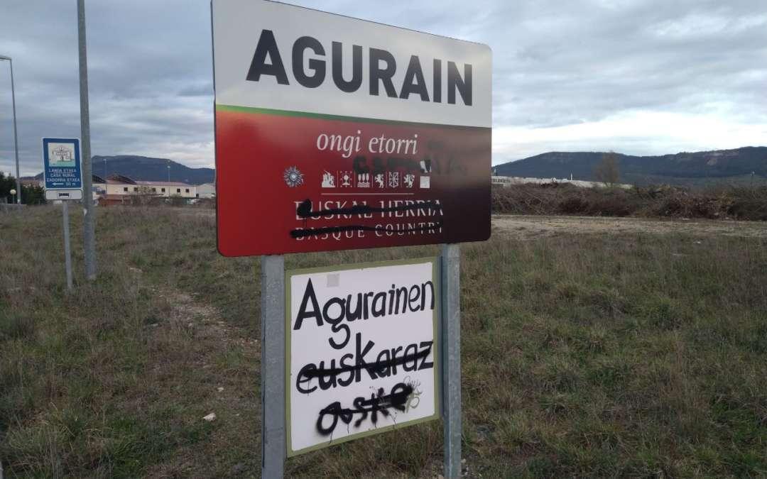 Zergatik eraso hau euskarari Agurainen?